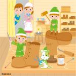 小人と靴屋のイラスト