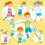 スポーツ選手のイラスト