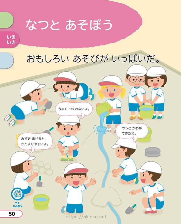 小学校生活科教科書(啓林館)